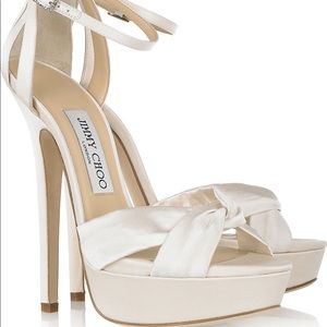 Perfect Jimmy Choo Wedding Sandals!